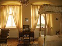 Das Himmelbettzimmer Maria Stuart