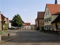 Marktplatz Zeilitzheim (Foto: Alexander von Halem)