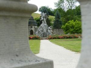 Abteigarten Ebrach (Foto: Alexander von Halem)