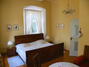 Das Dürer Zimmer im Hotel Schloss Zeilitzheim (Foto: Alexander von Halem)
