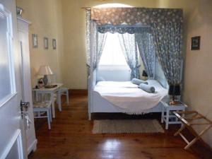 Das Maria Sibylla Merian Zimmer im Hotel Schloss Zeilitzheim (Foto: Alexander von Halem)