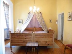 Das Veit Stoss Zimmer im Hotel Schloss Zeilitzheim (Foto: Alexander von Halem)