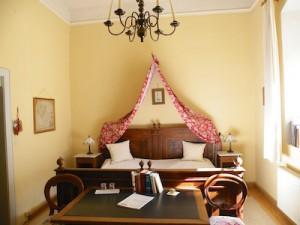 Das Wolfram von Eschenbach Zimmer im Hotel Schloss Zeilitzheim (Foto: Alexander von Halem)
