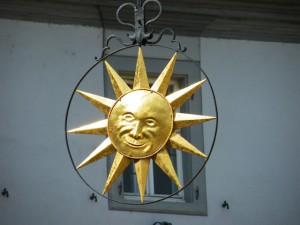 Lachende Sonne in Zeilitzheim