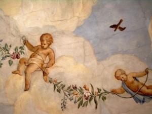 Freskensaal im Barockschloss Zeilitzheim