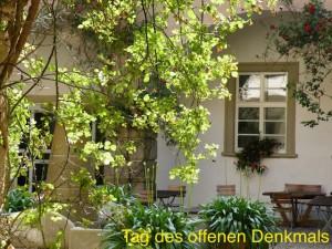 Innenhof Schloss Zeilitzheim Tag des offenen Denkmals