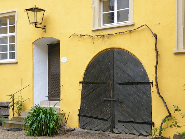 Arkadenhof Barockschloss Zeilitzheim