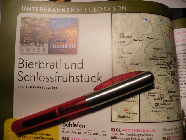 GEO-Saison Reisetipp: Barockschloss Zeilitzheim