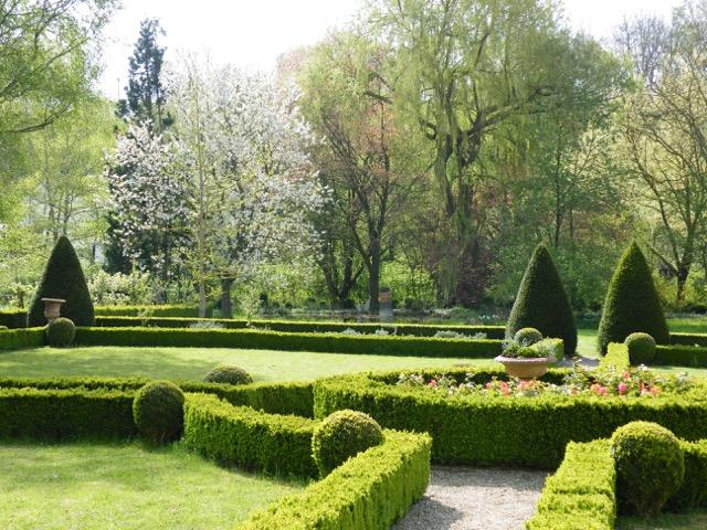 Garten Barockschloss Zeilitzheim