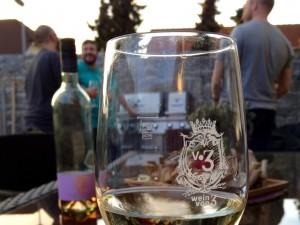 Weinverkostung bei Wein von 3